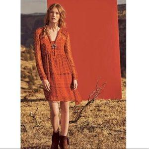 Anthropologie | Sheer Boho Dress | 6